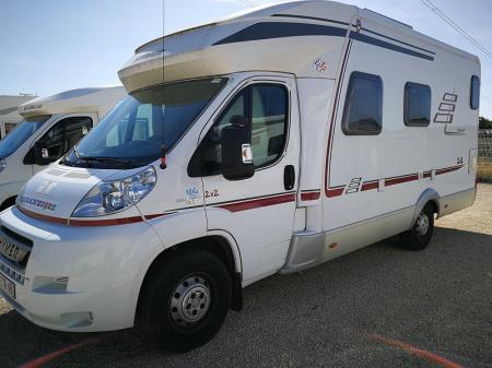 camping car HYMERMOBIL TRAMP 645 H modele 2010