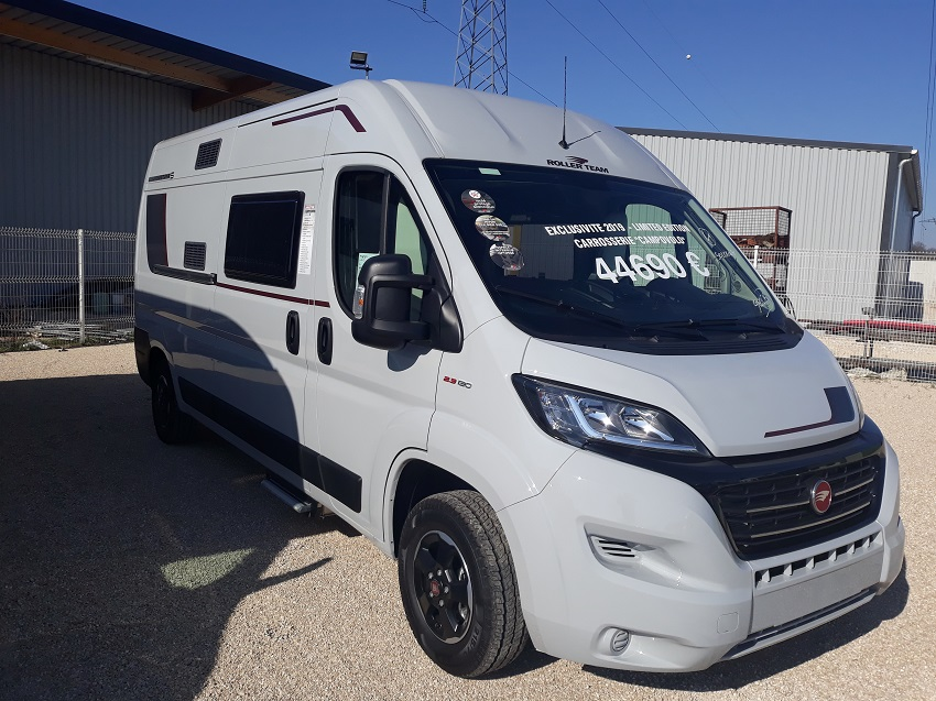 camping car ROLLER TEAM LIVINGSTONE 5 modèle 2019